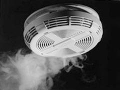 Détecteur de fumée dioxyde & gaz naturel